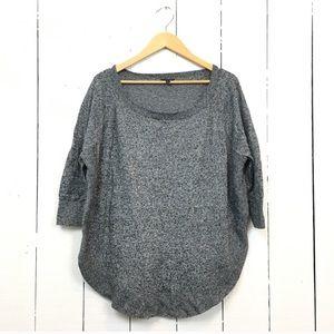 Express extreme circle hem sweater